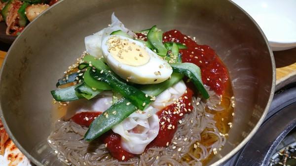 焼肉の〆にオススメ!「ビビン冷麺」