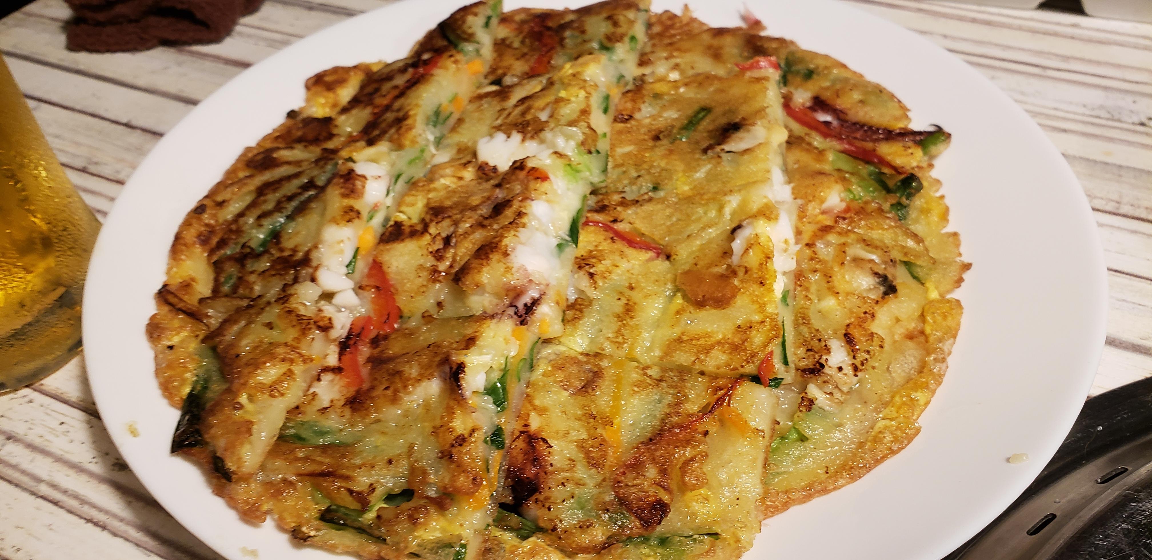 韓国のお好み焼き「チヂミ」