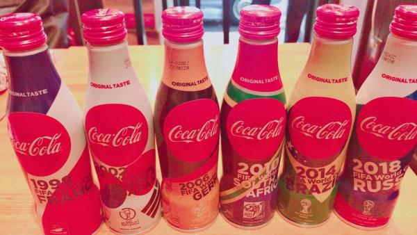 ワールドカップ記念限定コカ・コーラ無料イベント!