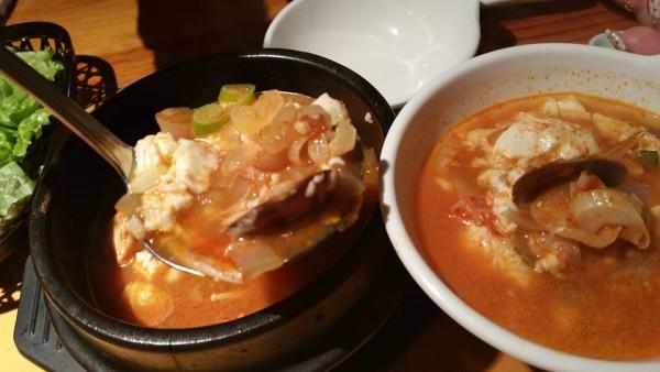 本場韓国のお味!「純豆腐チゲ」