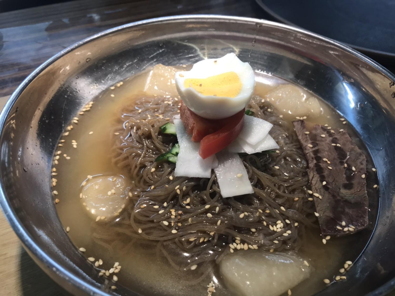 〆におすすめ!さっぱり水冷麺
